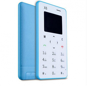 195450393ed Aiek X6 Credit card ultra slim GSM mobile phone Lowest Price in ...
